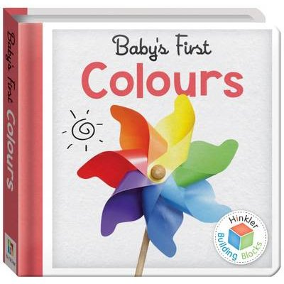 Colours Baby's First Padded Board Book (UK) (Novelty book):