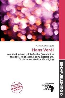 Hans Ver L (Paperback): Germain Adriaan