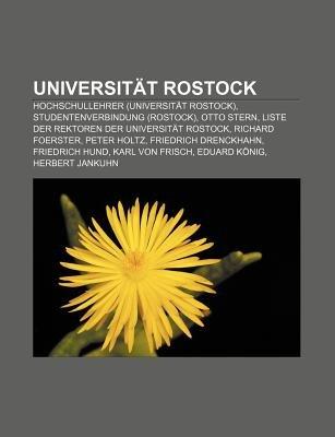 Universitat Rostock - Hochschullehrer (Universitat Rostock), Studentenverbindung (Rostock), Otto Stern (English, German,...