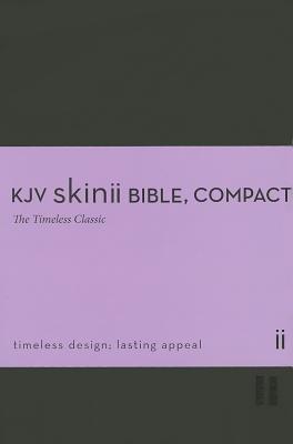 KJV Skinii Bible, Compact (Leather / fine binding): Zondervan Publishing