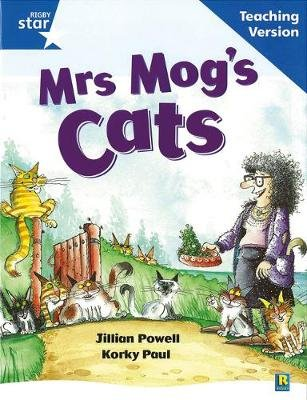 Rigby Star Guided Reading Blue Level: Mrs Mog's Cat Teaching Version (Paperback, 1st Revised edition):