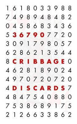 36,790 Cribbage Discards (Paperback): Anthony Myers