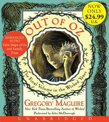 Out of Oz Unabridged Low Price CD (CD): Gregory Maguire
