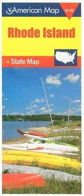 Rhode Island State Map (Sheet map, folded, illustrated edition): American Map Corporation
