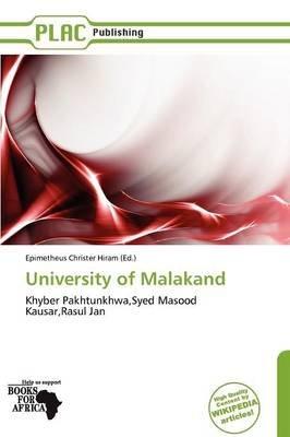 University of Malakand (Paperback): Epimetheus Christer Hiram