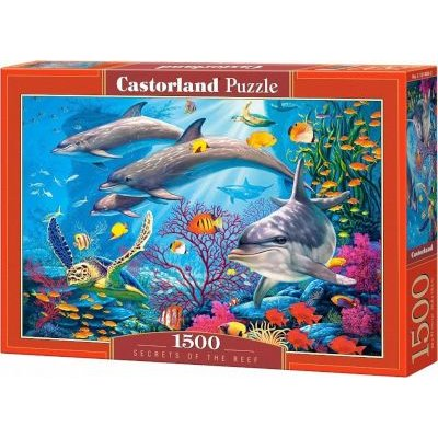 Castorland Jigsaw Puzzle - Secrets of The Reef (1500 Pieces):