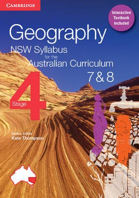 Geography NSW Syllabus for the Australian Curriculum Stage 4 Years 7 and 8 Textbook and Interactive Textbook (Mixed media...