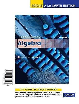 Introductory Algebra (Loose-leaf, 11th): Marvin L Bittinger