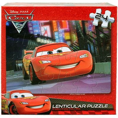 Disney Pixar Cars 2 Lenticular Puzzle - 24 Pieces: