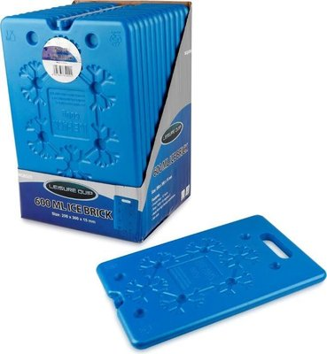 Leisure Quip Flat Easy Pack Ice Brick (600 ML):