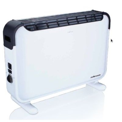 Mellerware Turbo 2000 Convection Heater (White):