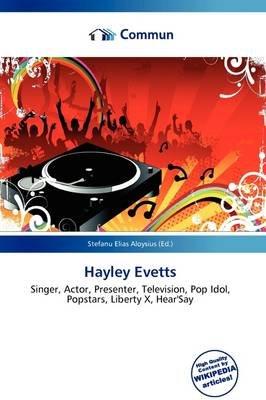 Hayley Evetts (Paperback): Stefanu Elias Aloysius