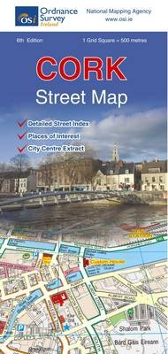 Cork Street Map (Sheet map, folded, 6th Revised edition): Ordnance Survey Ireland
