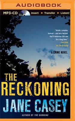 The Reckoning (MP3 format, CD): Jane Casey
