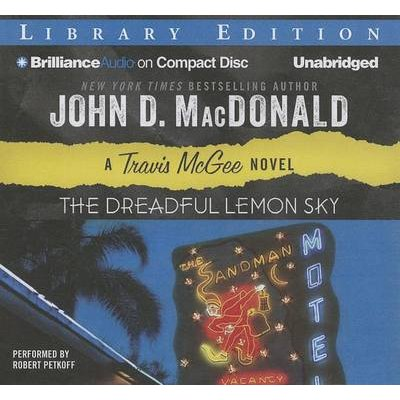 The Dreadful Lemon Sky (Standard format, CD, Library ed.): John D. MacDonald