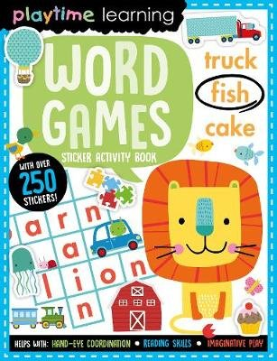 Word Games - Sticker Activity Book (Paperback):