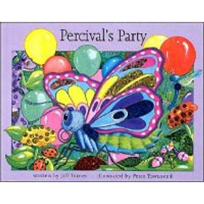 Percival's Party (Board book, illustrated edition): Jill Turner