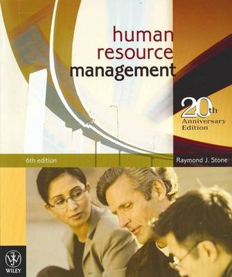 Human Resource Management 6E + Employment Relations Update 2010 (Multiple copy pack): Raymond J. Stone