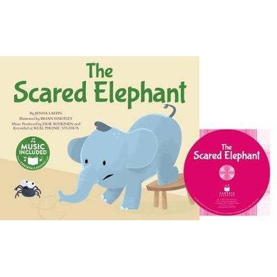 The Scared Elephant (Paperback): Jenna Laffin