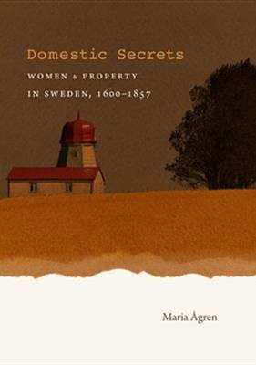 Domestic Secrets - Women & Property in Sweden, 1600-1857 (Electronic book text): Maria Adegreegren