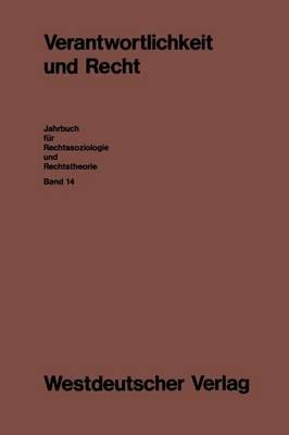 Verantwortlichkeit Und Recht (German, Paperback, 1989): Ernst-Joachim Lampe