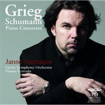 Various Artists - Grieg/Schumann: Piano Concertos (SACD super audio format, CD): Edvard Grieg, Robert Schumann, Janne Mertanen,...