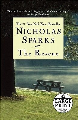 The Rescue (Large print, Paperback, large type edition): Nicholas Sparks
