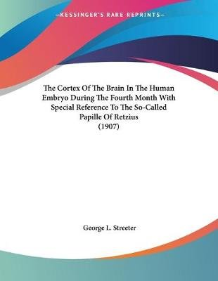 The Cortex of the Brain in the Human Embryo During the Fourth Month with Special Reference to the So-Called Papille of Retzius...