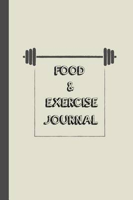 food and exercise journal fitness journal workout diary with