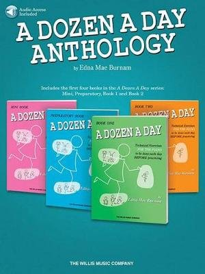 A Dozen a Day Anthology (Paperback): Edna Mae Burnam