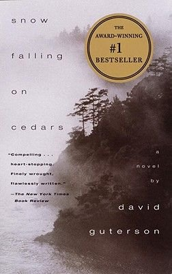 Snow Falling on Cedars (Sheet map, 1st Vintage contemporaries ed): David Guterson