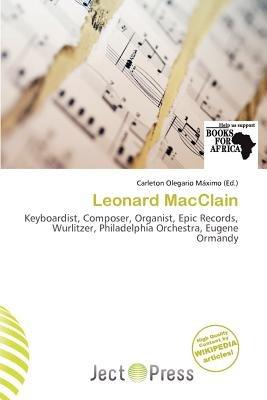 Leonard Macclain (Paperback): Carleton Olegario M. Ximo