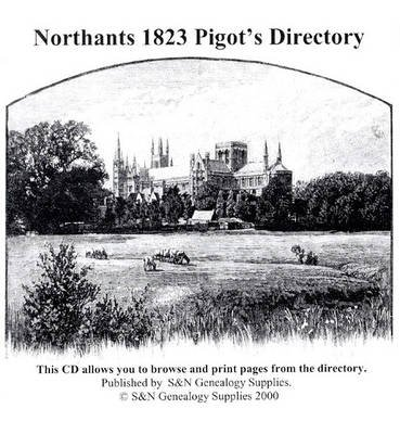 Northants 1823 Pigot's Directory (CD-ROM):