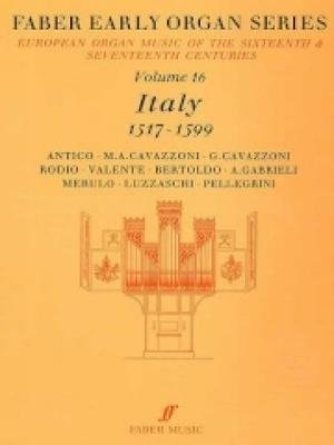 Early Organ Series 16: Italy 1517-1599 (English, Italian, Sheet music): James Dalton