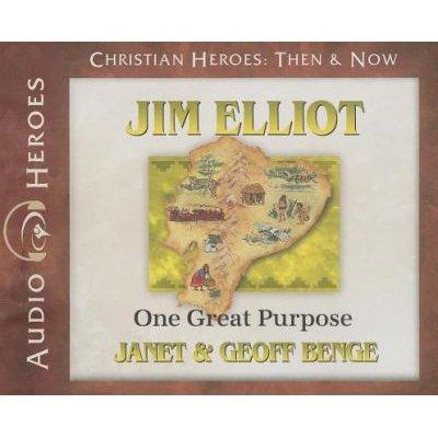 Jim Elliot - One Great Purpose (Standard format, CD): Janet Benge