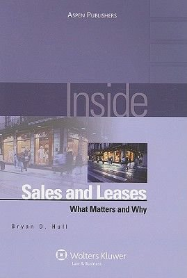 Inside Sales and Leases - What Matters and Why (Paperback): Bryan D. Hull