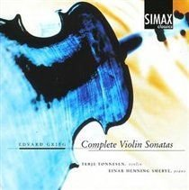 Various Artists - Complete Violin Sonatas (Tonnensen, Smebye) (CD): Edvard Grieg, Terje Tonnesen, Einar Henning Smebye