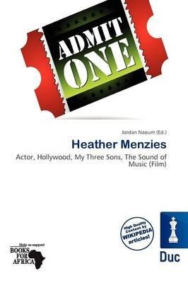 Heather Menzies (Paperback): Jordan Naoum