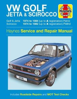 VW Golf, Jetta & Scirocco (Paperback): Haynes Publishing