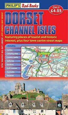 Philip's Red Books Dorset and the Channel Isles (Sheet map, folded):