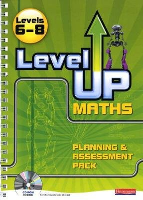 Level Up Maths, Levels 6-8 - Teacher Planning and Assessment Pack (Spiral bound): Keith Pledger