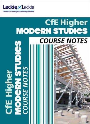 CfE Higher Modern Studies Course Notes (Paperback): Pamela Farr, Megan Lowry, Gillian Rocks, Leckie & Leckie, Megan Connor,...