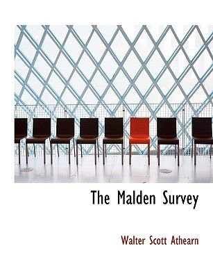 The Malden Survey (Large print, Hardcover, large type edition): Walter Scott Athearn