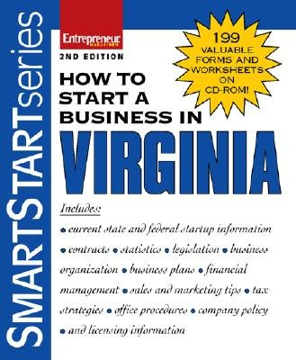 How to Start a Business in Virginia (Paperback, 2nd Revised edition): Entrepreneur Press