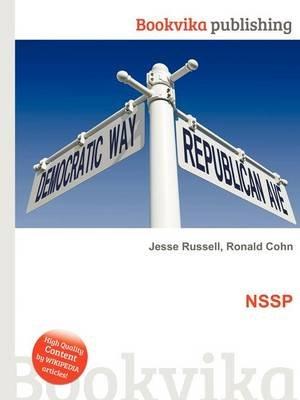 Nssp (Paperback): Jesse Russell, Ronald Cohn