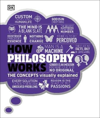 How Philosophy Works - The concepts visually explained (Hardcover): Dk