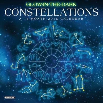 Glow-In-The-Dark Constellations Calendar (Calendar): Orange Circle Studio