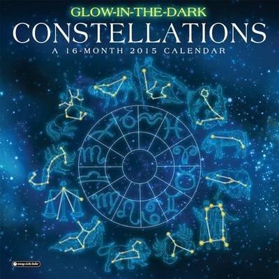 Glow-In-The-Dark Constellations Calendar (Calendar): Orange Circle Studio