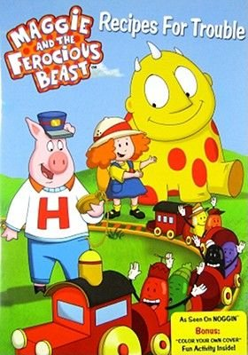 Maggie & the Ferocious Beast: Recipes for Trouble (Video casette):
