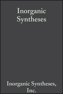 Inorganic Syntheses (Electronic book text, Volume 12):